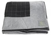 BEDCOVER GREY - WOOL