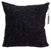 PILLOWCASE BLACK VELVET  - QUEEN