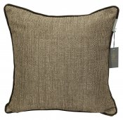 PILLOWCASE BASIC BROWN  - velvet cord