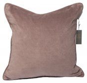 PILLOWCASE BASIC DUSTY NOUGAT - MATT VELVET