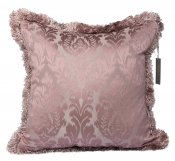 PILLOWCASE PAISLEY DUSTY PINK W/ FRINGE - BAROCK