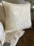 PILLOWCASE OFFWHITE EMBROIDERED