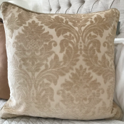 PILLOWCASE CLASSIC BEIGE WITH CORD