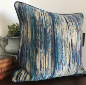 PILLOWCASE BLUE TONES - MULTI