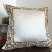 PILLOWCASE ROYAL SATIN WHITE - ZARI