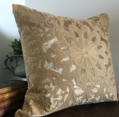 PILLOWCASE DUSTY BEIGE - ROYAL