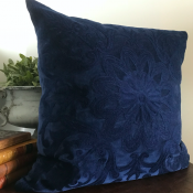 PILLOWCASE NAVY- ROYAL