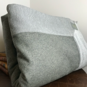 BEDCOVER GREY WOOL - autentico