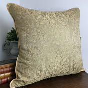 PILLOWCASE GOLD BEIGE - SEA