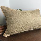 PILLOWCASE GOLD/BEIGE - SEA 40*70 CM