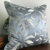 PILLOWCASE PATTERNED ICEGREY - SKY