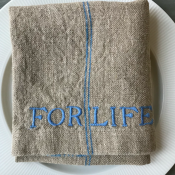 KITCHEN TOWEL - LINEN - FOR LIFE