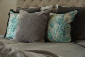 PILLOWCASE PAISLEY WITH FRINGE POWER